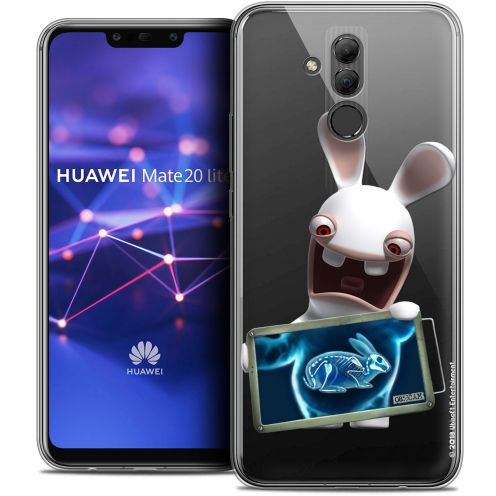 "Coque Gel Huawei Mate 20 Lite (6.3"") Extra Fine Lapins Crétins™ - X Ray Crétin"