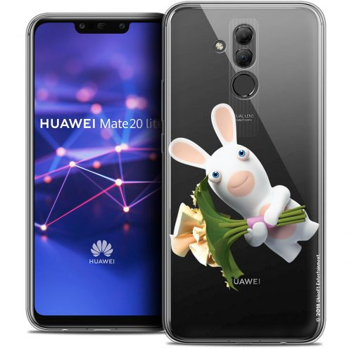 "Coque Gel Huawei Mate 20 Lite (6.3"") Extra Fine Lapins Crétins™ - Bouquet Crétin"