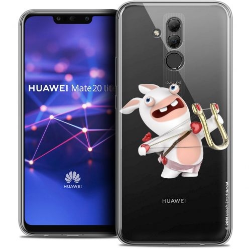 "Coque Gel Huawei Mate 20 Lite (6.3"") Extra Fine Lapins Crétins™ - Cupidon Crétin"