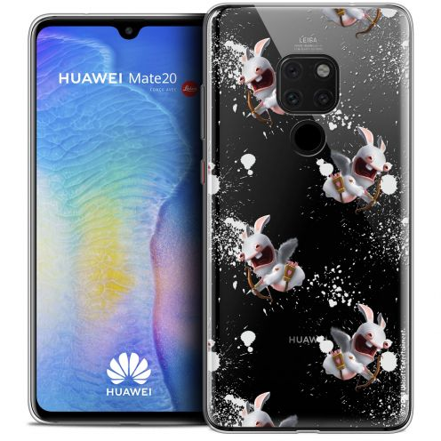 """Coque Gel Huawei Mate 20 (6.5"""") Extra Fine Lapins Crétins™ - Cupidon Pattern"""