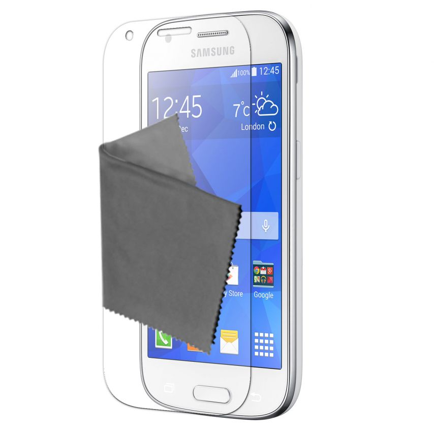 Visuel unique de Films de protection Samsung Galaxy Ace 4 Clubcase® 3H Ultra Clear HD Lot de 10