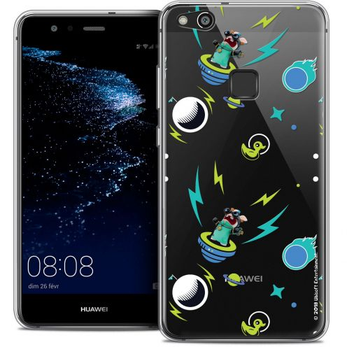 "Coque Gel Huawei P10 LITE (5.2"") Extra Fine Lapins Crétins™ - Space 1"