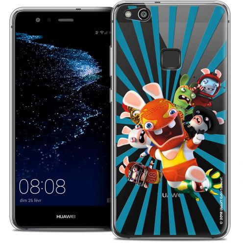 "Coque Gel Huawei P10 LITE (5.2"") Extra Fine Lapins Crétins™ - Super Heros"