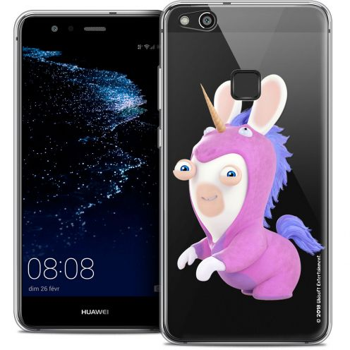 "Coque Gel Huawei P10 LITE (5.2"") Extra Fine Lapins Crétins™ - Licorne"