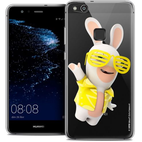 "Coque Gel Huawei P10 LITE (5.2"") Extra Fine Lapins Crétins™ - Sun Glassss!"