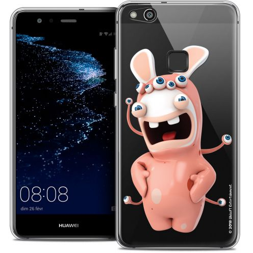 "Coque Gel Huawei P10 LITE (5.2"") Extra Fine Lapins Crétins™ - Extraterrestre"