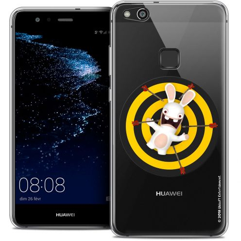 "Coque Gel Huawei P10 LITE (5.2"") Extra Fine Lapins Crétins™ - Target"
