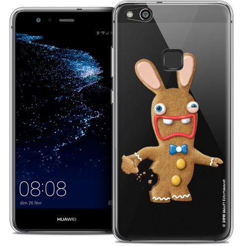 "Coque Gel Huawei P10 LITE (5.2"") Extra Fine Lapins Crétins™ - Cookie"