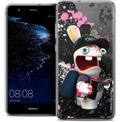 "Coque Gel Huawei P10 LITE (5.2"") Extra Fine Lapins Crétins™ - Painter"