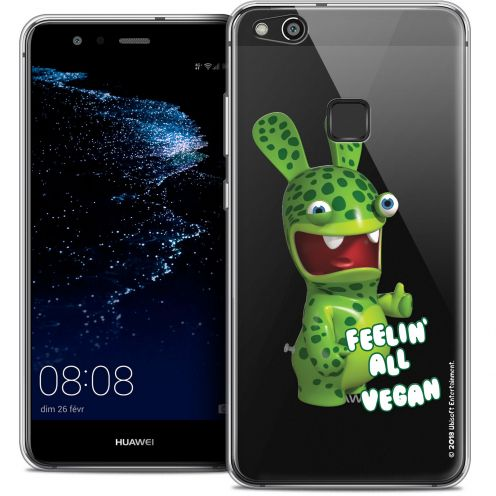 "Coque Gel Huawei P10 LITE (5.2"") Extra Fine Lapins Crétins™ - Vegan"