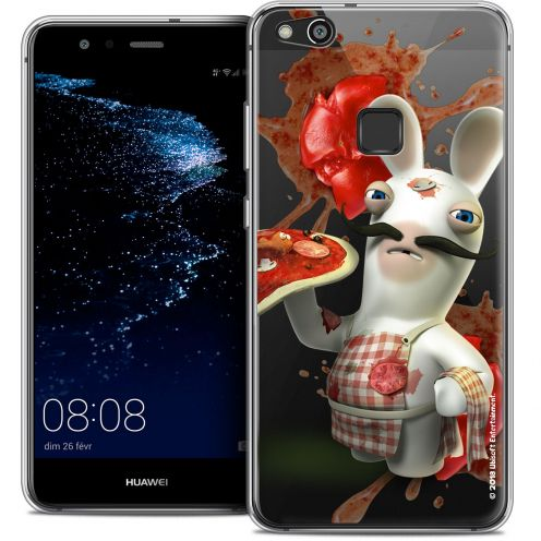 "Coque Gel Huawei P10 LITE (5.2"") Extra Fine Lapins Crétins™ - Cuisinier"