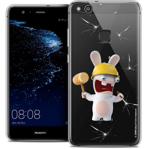 "Coque Gel Huawei P10 LITE (5.2"") Extra Fine Lapins Crétins™ - Breaker"