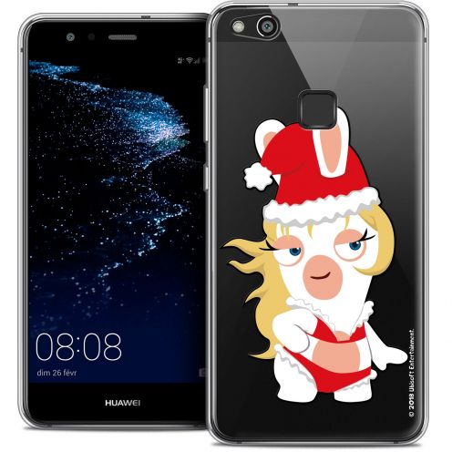 "Coque Gel Huawei P10 LITE (5.2"") Extra Fine Lapins Crétins™ - Lapin Danseuse"