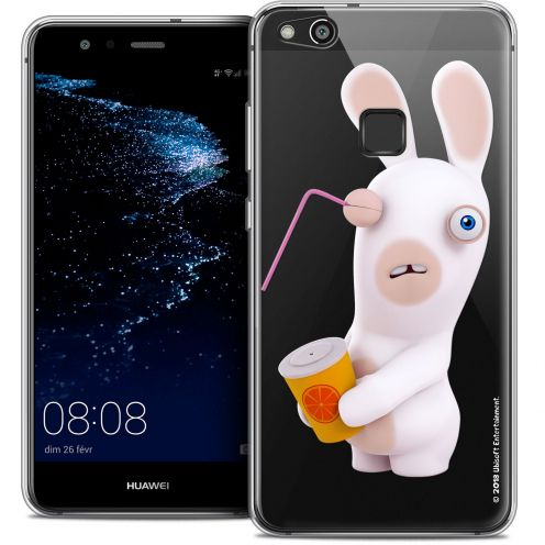 "Coque Gel Huawei P10 LITE (5.2"") Extra Fine Lapins Crétins™ - Soda Crétin"