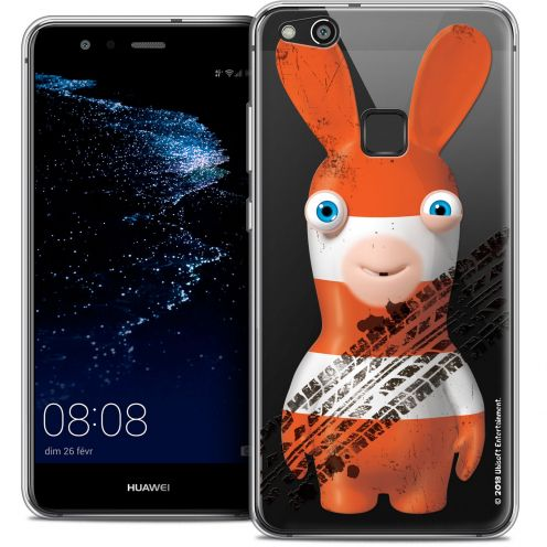 "Coque Gel Huawei P10 LITE (5.2"") Extra Fine Lapins Crétins™ - On the Road"