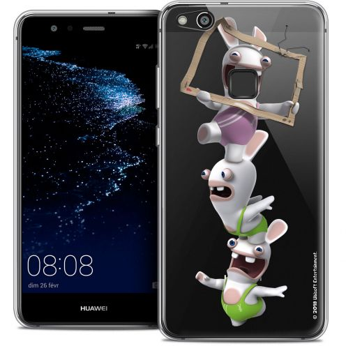 "Coque Gel Huawei P10 LITE (5.2"") Extra Fine Lapins Crétins™ - TV Sport"