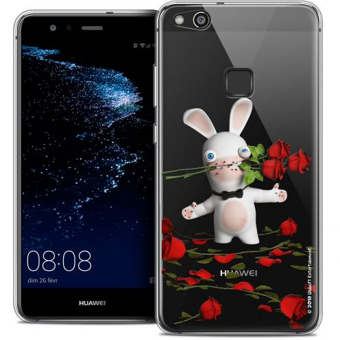"Coque Gel Huawei P10 LITE (5.2"") Extra Fine Lapins Crétins™ - Gentleman Crétin"