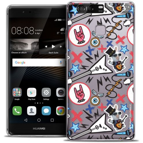 Coque Rigide Huawei P9 Extra Fine Lapins Crétins™ - Rock Pattern