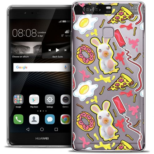 Coque Rigide Huawei P9 Extra Fine Lapins Crétins™ - Egg Pattern