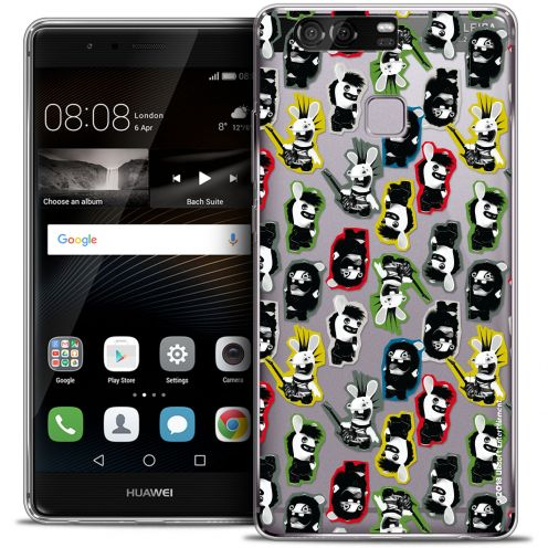 Coque Rigide Huawei P9 Extra Fine Lapins Crétins™ - Punk Pattern