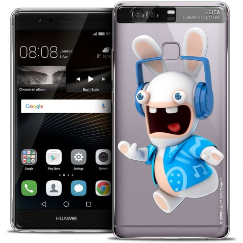 Coque Rigide Huawei P9 Extra Fine Lapins Crétins™ - Techno Lapin