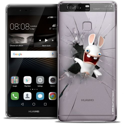 Coque Rigide Huawei P9 Extra Fine Lapins Crétins™ - Breaking Glass