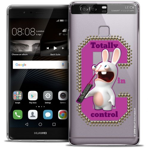 Coque Rigide Huawei P9 Extra Fine Lapins Crétins™ - In Control !