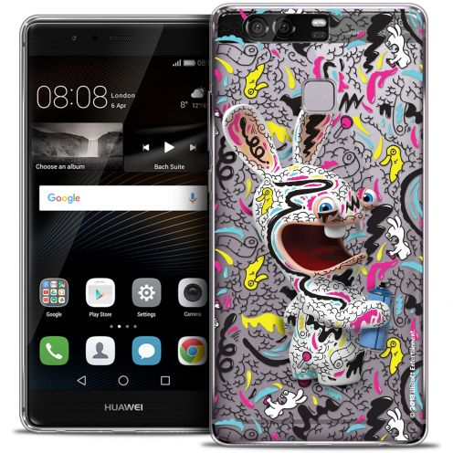 Coque Rigide Huawei P9 Extra Fine Lapins Crétins™ - Tag