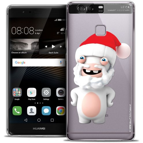 Coque Rigide Huawei P9 Extra Fine Lapins Crétins™ - Lapin Noël