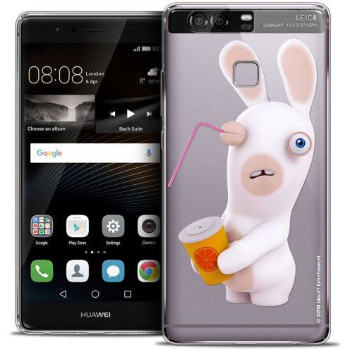 Coque Rigide Huawei P9 Extra Fine Lapins Crétins™ - Soda Crétin