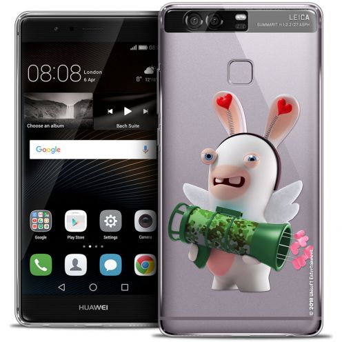 Coque Rigide Huawei P9 Extra Fine Lapins Crétins™ - Cupidon Soldat