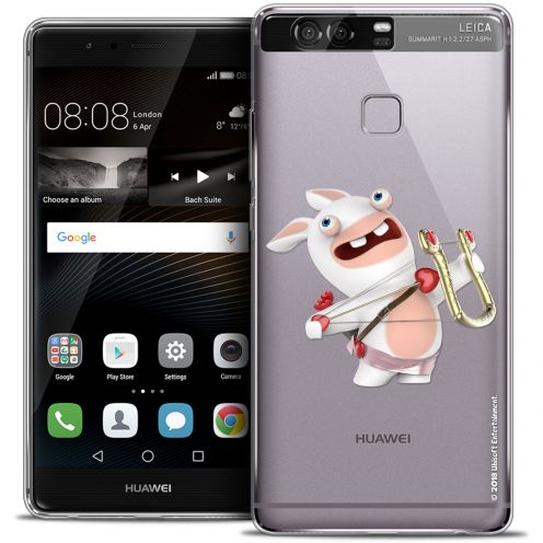 Coque Rigide Huawei P9 Extra Fine Lapins Crétins™ - Cupidon Crétin