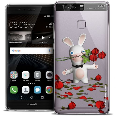Coque Rigide Huawei P9 Extra Fine Lapins Crétins™ - Gentleman Crétin