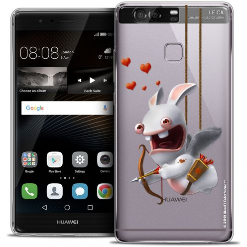 Coque Rigide Huawei P9 Extra Fine Lapins Crétins™ - Flying Cupidon