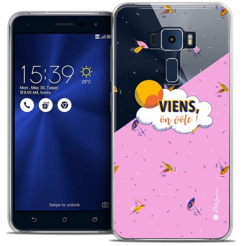 "Coque Gel Asus Zenfone 3 ZE520KL (5.2"") Extra Fine Petits Grains® - VIENS, On Vole !"