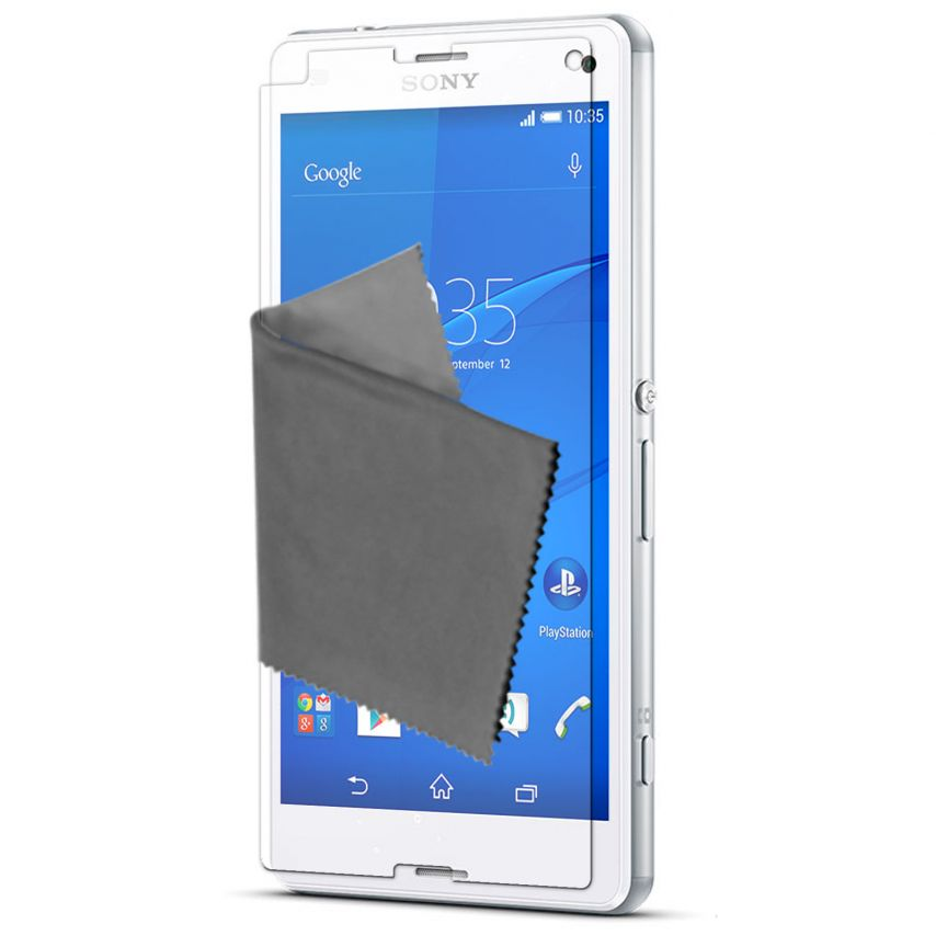 Visuel unique de Films de protection Sony XPERIA Z3 Compact Clubcase ® HD Lot de 3