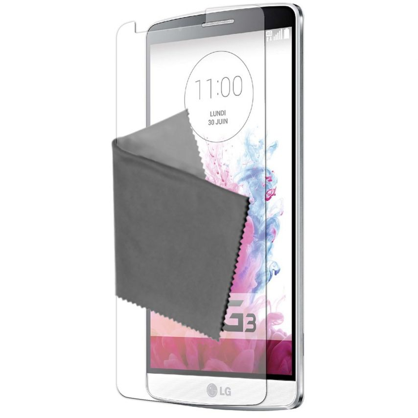 Visuel unique de Films de protection LG G3 Clubcase ® Clear HD Lot de 10