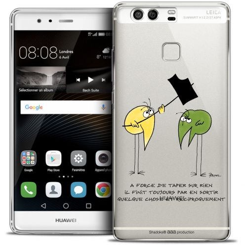 Coque Rigide Huawei P9 Extra Fine Les Shadoks® - A Force