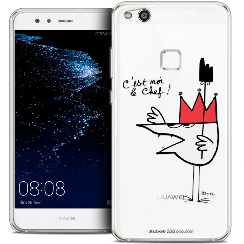 "Coque Gel Huawei P10 LITE (5.2"") Extra Fine Les Shadoks® - Le Chef"