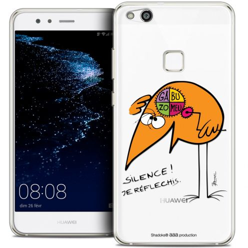 "Coque Gel Huawei P10 LITE (5.2"") Extra Fine Les Shadoks® - Silence !"