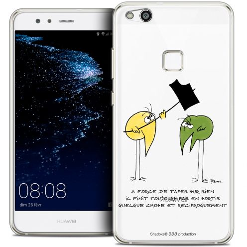 "Coque Gel Huawei P10 LITE (5.2"") Extra Fine Les Shadoks® - A Force"