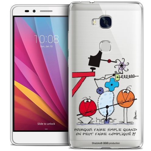 Coque Honor 5X Extra Fine Les Shadoks® - Pourquoi faire Simple
