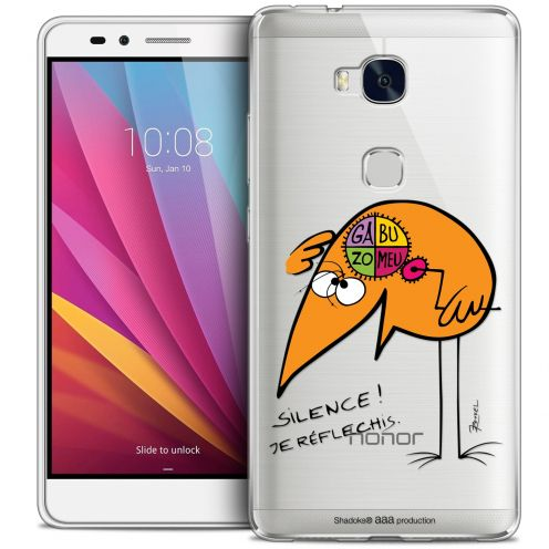 Coque Honor 5X Extra Fine Les Shadoks® - Silence !
