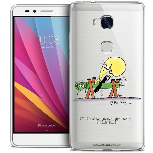 Coque Honor 5X Extra Fine Les Shadoks® - Je pense Donc