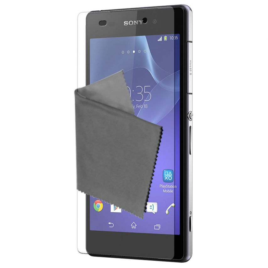 Visuel unique de Films de protection Sony XPERIA Z2 Clubcase ® HD Lot de 3