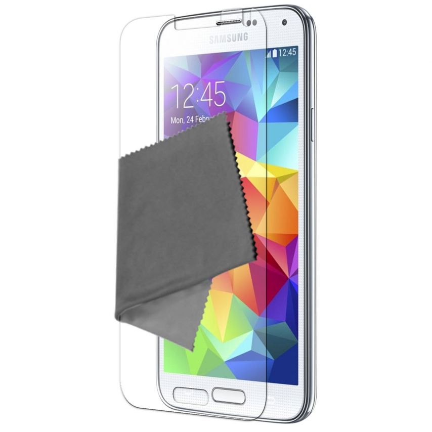 Visuel unique de Films de protection Samsung Galaxy S5 Clubcase ® HD Lot de 5