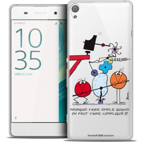 Coque Xperia XA Extra Fine Les Shadoks® - Pourquoi faire Simple