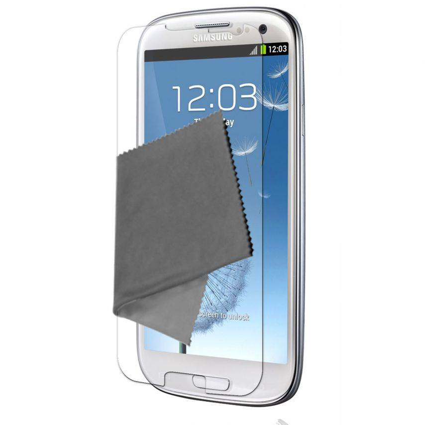 Visuel unique de Films de protection Samsung Galaxy S3 Clubcase ® HD Lot de 2