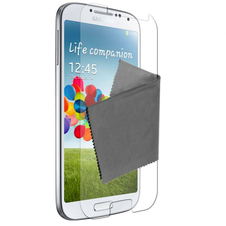 Visuel unique de Films de protection Samsung Galaxy S4 Clubcase ® HD Lot de 5
