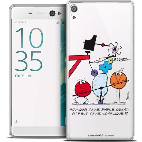 "Coque Xperia XA Ultra 6"" Extra Fine Les Shadoks® - Pourquoi faire Simple"